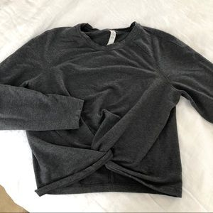 Lululemon Crop Twist Sweatshirt  Size 4